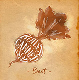 Beet cutting scheme craft