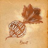 Beet cutting scheme craft