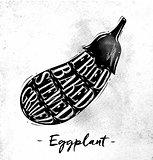 Eggplant cutting scheme