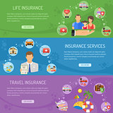 Insurance Services Horizontal Banners
