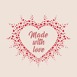 Vector decoration heart