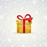 Vector Christmas gift