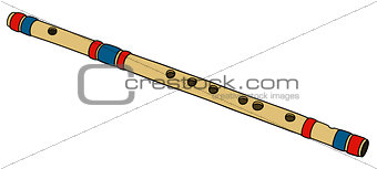 classic bamboo flute
