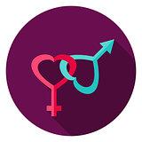 Gender Circle Icon