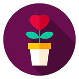 Flower Circle Icon