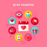 Concept Be My Valentine