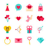 Happy Valentine Day Objects