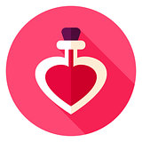 Love Potion Circle Icon