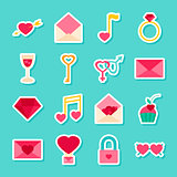 Love Valentines Day Stickers