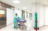 Hospital emergency corridor