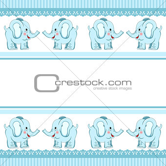 Boy Baby Elephant