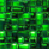 Seamless Texture abstract green squares
