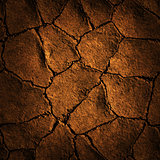 Seamless Texture earth cracked because of drought