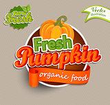 Fresh Pumkin logo.