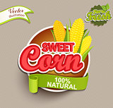 Sweet corn logo.