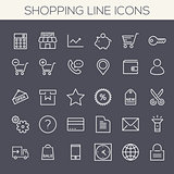 Inline Shopping Icons Collection