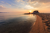 Ierissos-Kakoudia beach, Greece