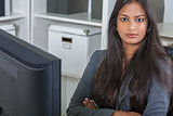 Asian Indian Woman or Businesswoman in Office
