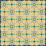 Islamic abstract geometric background.