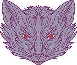 Fox Head Mono Line