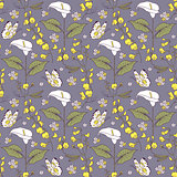 pattern with calla flowers