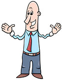 man or businessman cartoon
