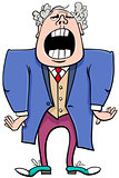 opera singer cartoon character