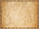 old nautical map background