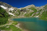 High Alpine lake in Austria.