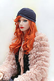 Red Hair Mannequin