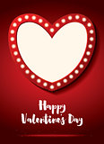 Happy Valentine's Day Greeting Card.