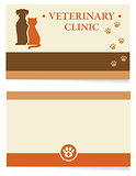 veterinary business card