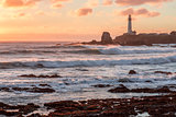Sunset at Pigeon Point Lighthouse.