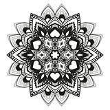 Vector flower mandala