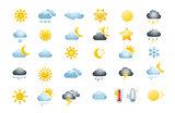 30 weather icons