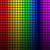Background of rainbow colored mosaic