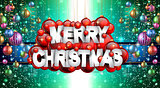 Merry Christmas Background for your seasonal invitations
