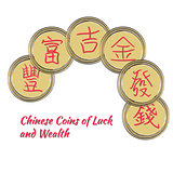 Bunch of China Coins
