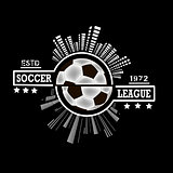 Logo soccer league