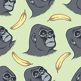 Vector Monkey Concept
