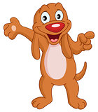 Presenter dog
