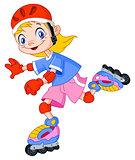 Rollerblades kid