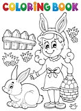 Coloring book Easter topic image 2