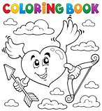 Coloring book Valentine theme 6