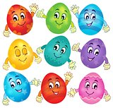 Happy Easter eggs collection 2