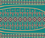 Ethnic Abstract bright pattern background.