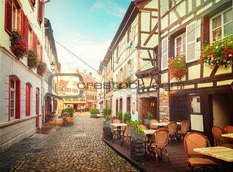 old town of Strasbourg, France