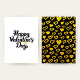 Happy Valentines Day Trendy Posters