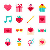 Valentine Day Objects