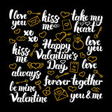 Valentines Day Calligraphy Design